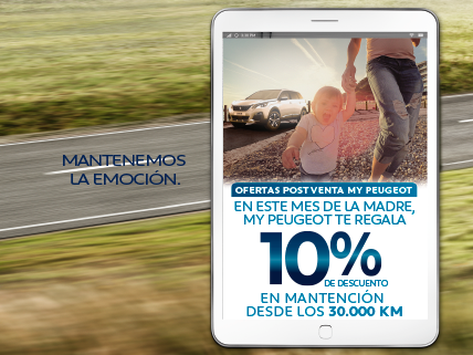 Promoción post venta Peugeot