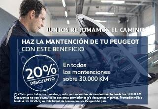 Promociones Post Venta Peugeot