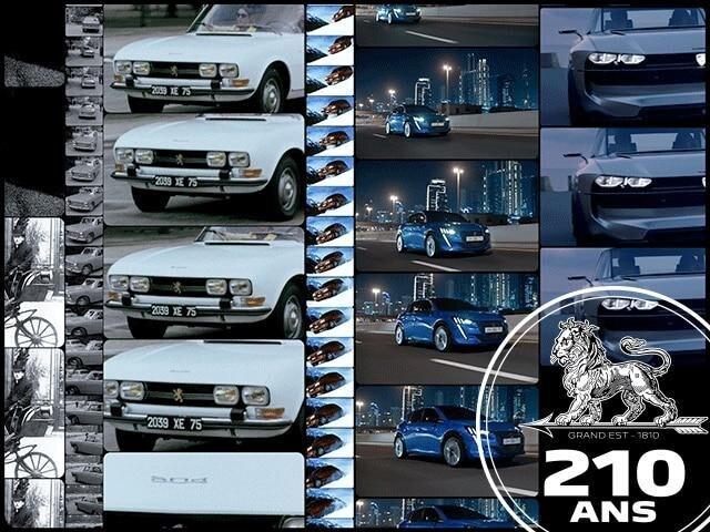 Peugeot 210 años