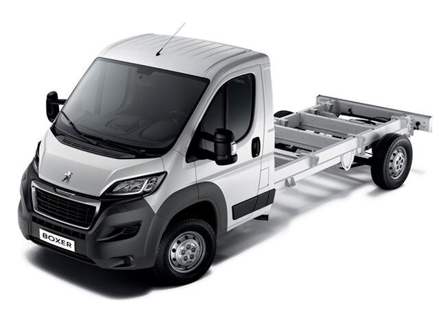 Peugeot Boxer Chassis