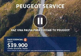 Ofertas post venta Peugeot Chile