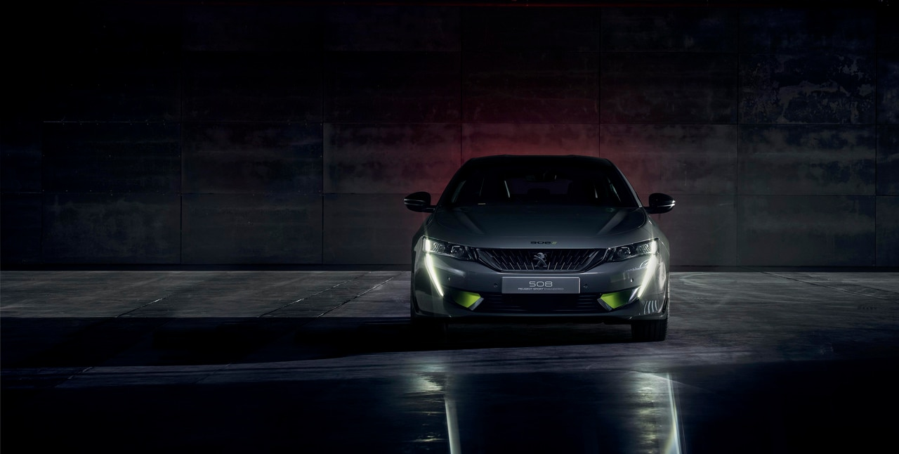 Frente del Concept 508 PEUGEOT SPORT ENGINEERED